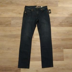 Volcom Men's Vorta Slim Straight Jeans